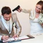 Смех уменьшает свадебный стресс!