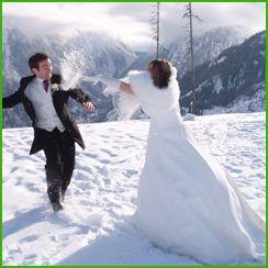 Свадьба зимой. Советы…