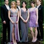 Гости на свадьбе. Один цвет наряда