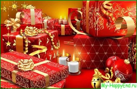 Подбор подарка на Новый год