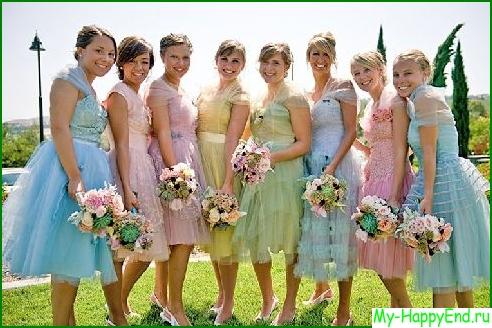 Кто платит за платье подружки невесты?