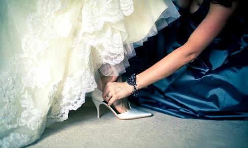Выбираем туфли невесты