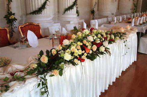 Цветы на свадьбу для каждого времени года