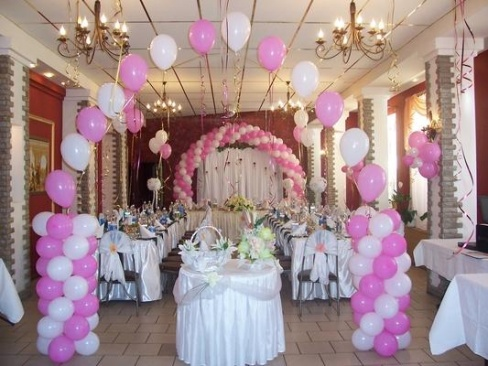 Украсить свадебного зала своими руками фото 933