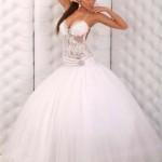 Свадебное платье, как у принцессы