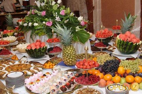 Угощения: салаты на свадьбу
