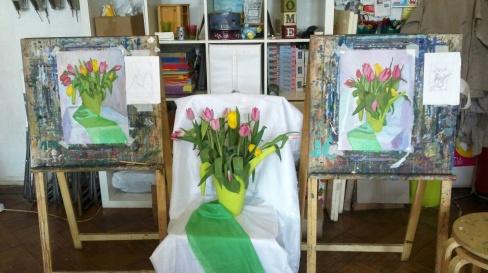 Занятия по декоративному рисованию