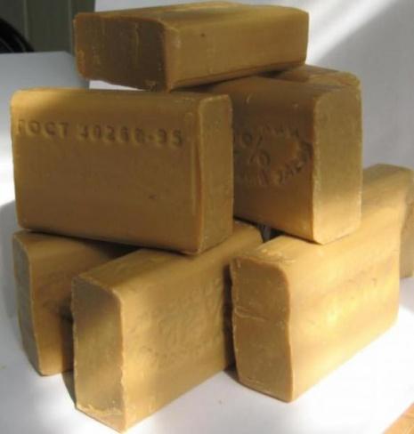 Хозяйственное мыло, как дезинфицирующее средство