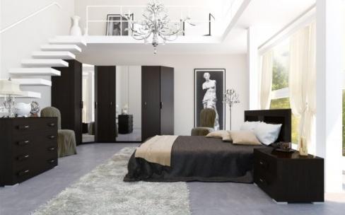 Комфортная спальная комната