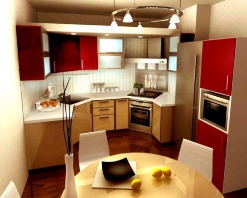 Маленькая кухня – не проблема