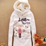 Молодежные белые толстовки и балахоны с капюшоном — новый тренд 2012 года