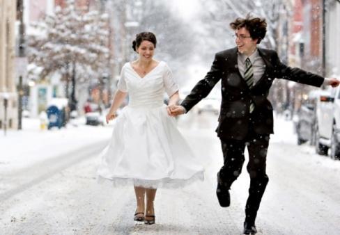 Правила проведения зимней свадьбы. Советы и полезные рекомендации