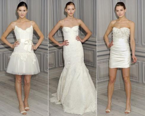 Советы стильным невестам. Свадебные платья сезон 2012