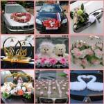 Современное украшение свадебных машин своими руками