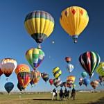 Семейный отдых: путешествие на воздушном шаре