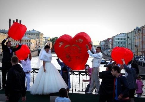 Небесные фонарики на свадьбу альтернатива фейерверку