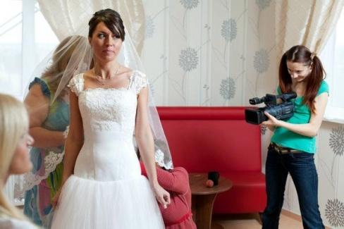 Видеооператор на свадьбу — советы жениху и невесте