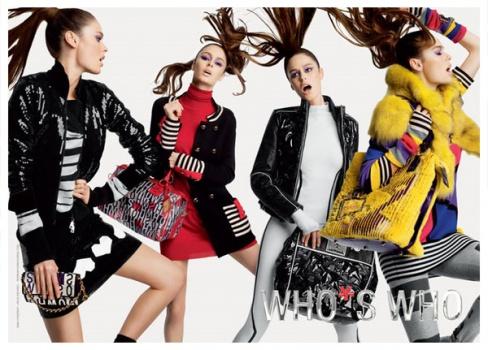 Фирма Who's who изготавливает женскую одежду только в соответствии с самыми высокими стандартами качества