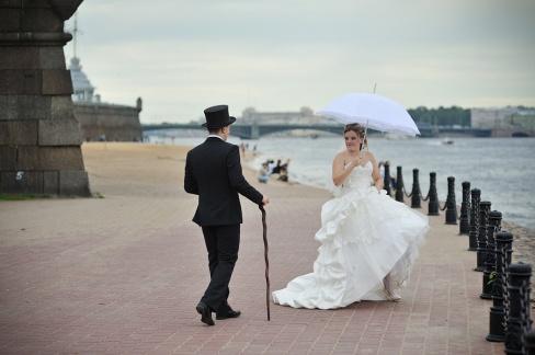Где фотографироваться на свадьбу?