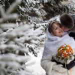Модный тренд – шуба на свадьбу