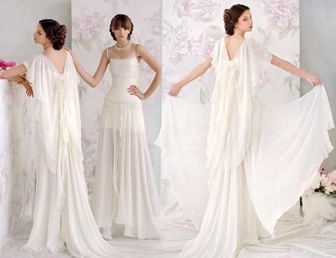 Свадебное платье в греческом стиле – модно и оригинально