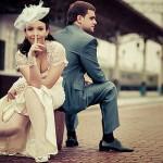 Свадьба в оригинальном стиле «винтаж»