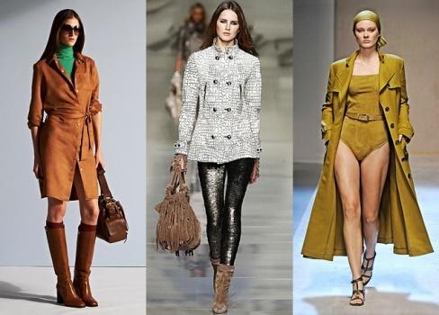 Женская верхняя одежда 2012. Советы стилистов