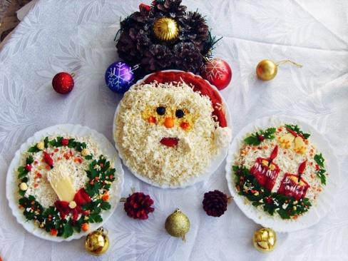 Вкусности на новогодний стол 2013