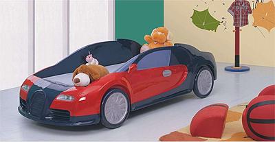 Где купить кровать-машину и как выбрать мебель для детской?