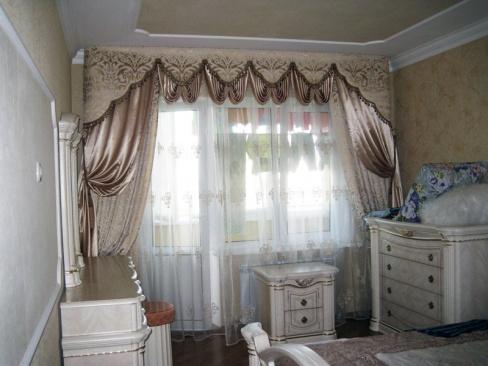 шторы для спальни фото красивые