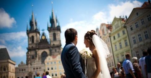 Прага превратит Вашу свадьбу в чудесную незабываемую сказку