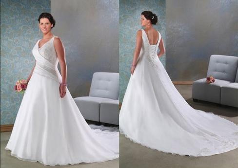 Полнота — не помеха для невесты!