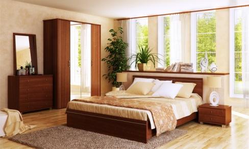 Спальня с запахом лета