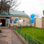 Как украсить двор на свадьбу?