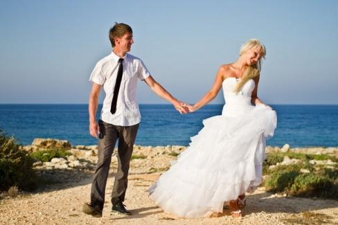 Наша послесвадебная фотосессия на Кипре