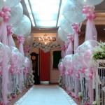 Оформление свадебного зала своими руками