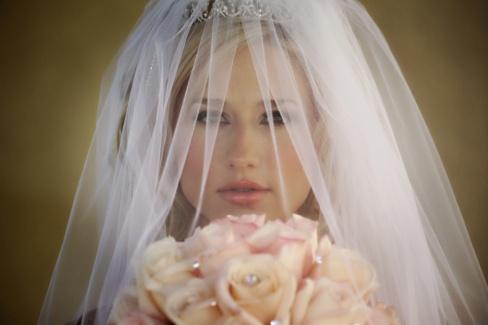 Свадебная мода 2013: фата невесты