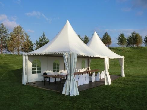 Тенты и шатры для свадьбы. Советы по выбору