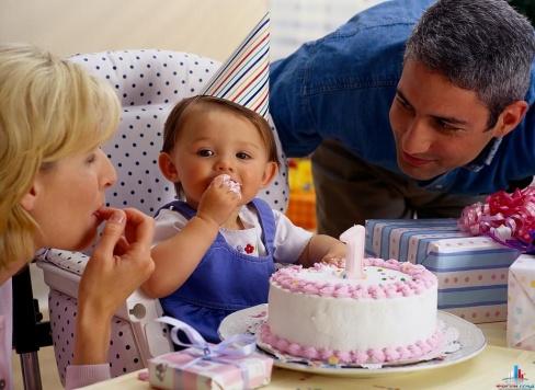 Торт на рождение ребенка — советы по выбору тортов