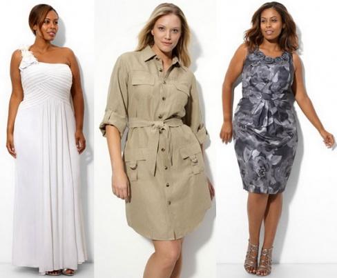 fac0db4a99a Фасоны летних платьев для полных дам. Советы и рекомендации стилистов