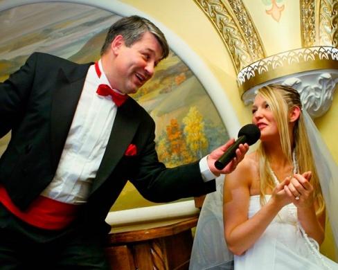 Выбор ведущего свадьбы