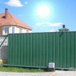Заборы и ворота как защита загородного дома