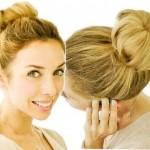 Как сделать прическу пучок из волос?