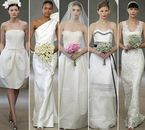 Модные свадебные наряды 2013