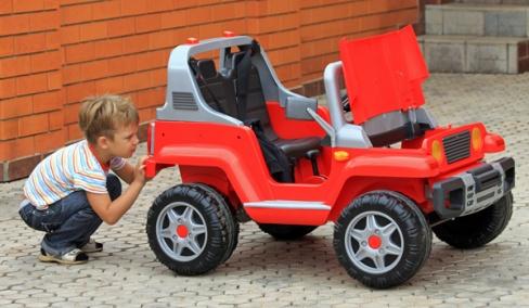 Детские электромобили. Как выбрать?