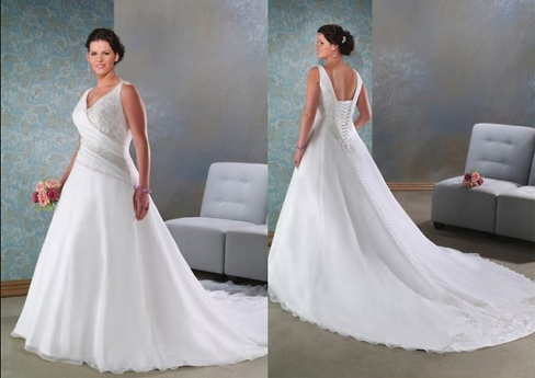 Свадебные платья для полных невест