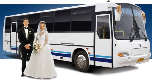 Транспорт для гостей на свадьбу