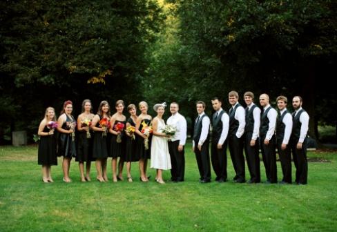 Как выбрать на свадьбу свидетеля и свидетельницу?