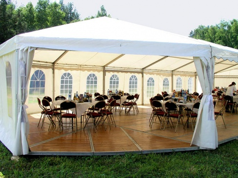 Летние шатры