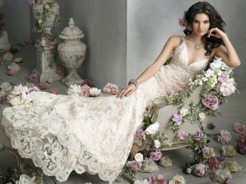 Поход в свадебный салон